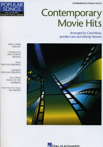 Contemporary Movie Hits (Intermediate Piano Solos)