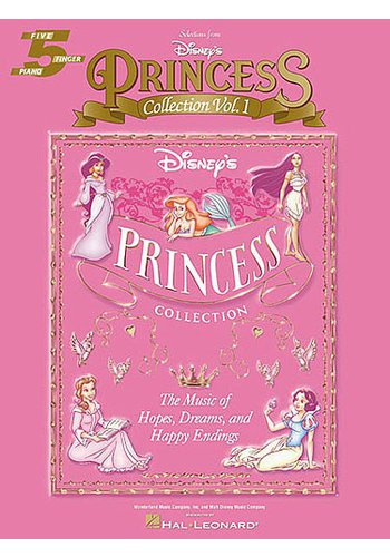 Disney's Princess Collection Volume 1 Five Finger Piano