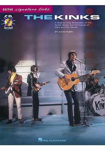 The Kinks : Guitar Signature Licks (Partition+CD)
