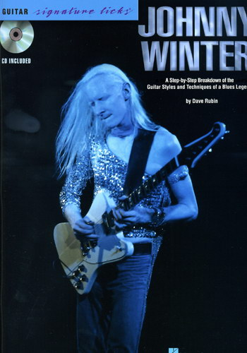 Guitar Signature Licks : Johnny Winter (Partition+CD)