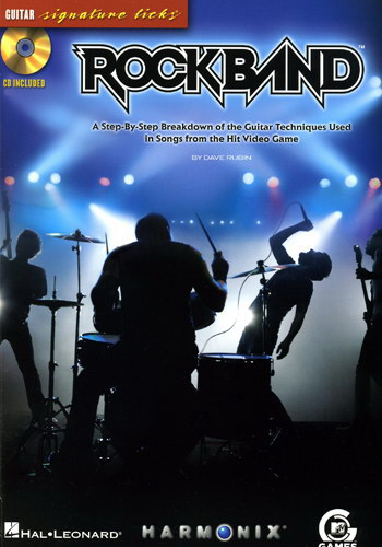 Rock Band (Partition+CD)