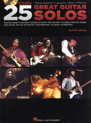 25 Great Guitar Solos (Partition+CD)