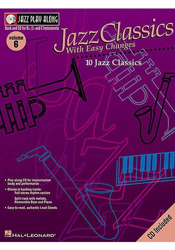 Jazz Play Along Volume 6: Jazz Classics With Easy Changes
