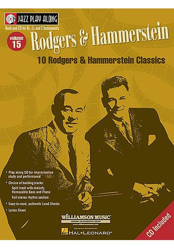 Jazz Play Along Volume 15 : 10 Rodgers and Hammerstein Classics