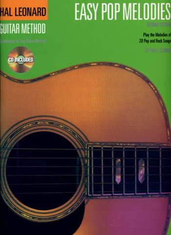 Hal Leonard Guitar Method: Easy Pop Melodies