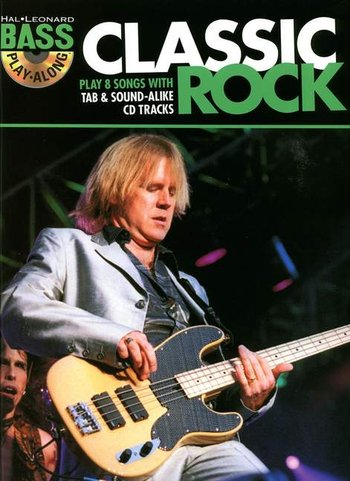 Hal Leonard Bass Play-Along : Classic Rock