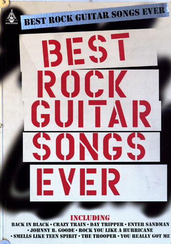 Best Rock Guitar Songs Ever (Partition)