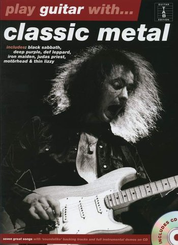 Play Guitar With... Classic Metal (Partition+CD)