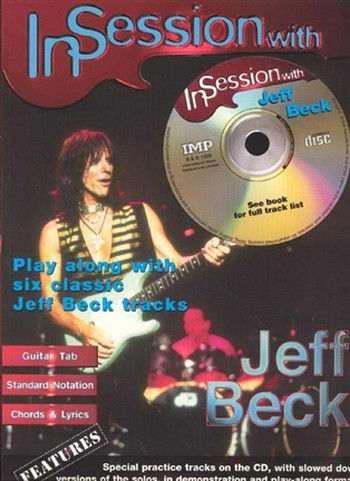 In Session With Jeff Beck (Partition+CD)
