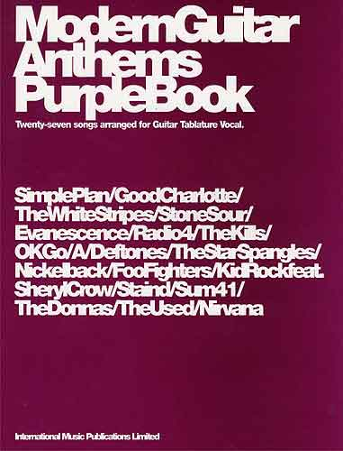 Modern Guitar Anthems Purple Book (Partition)