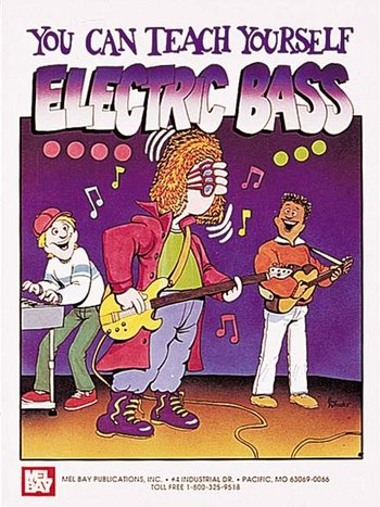 You Can Teach Yourself Electric Bass (Partition+CD)