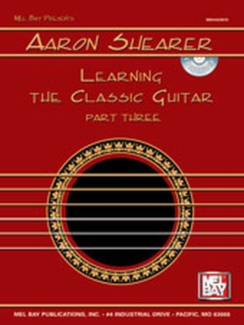 Learning the Classic Guitar Part 3 (Partition+CD)