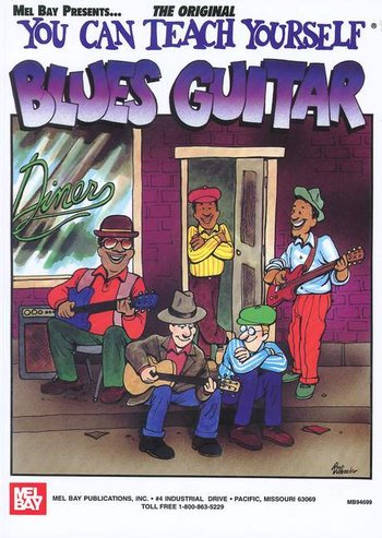 You Can Teach Yourself Blues Guitar (CD)