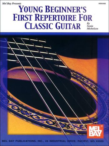 Young Beginner's First Repertoire for Classic Guitar (Partition)