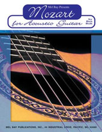 Mozart for Acoustic Guitar (Partition+CD)