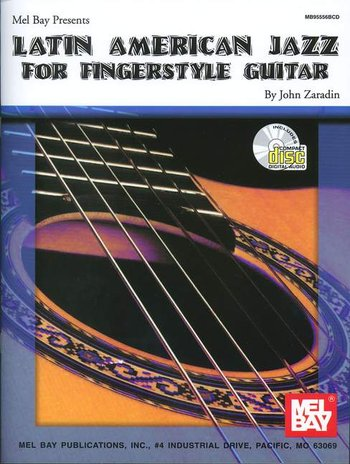 Latin American Jazz for Fingerstyle Guitar (Partition)