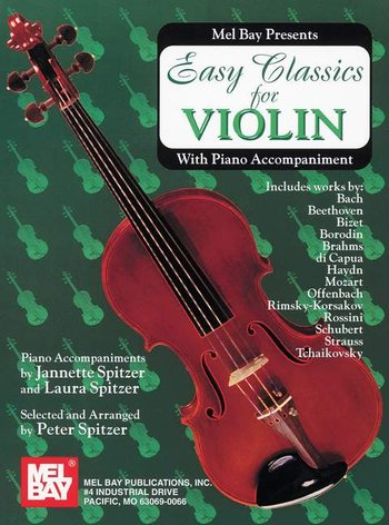 Easy Classics for Violin - With Piano Accompaniment