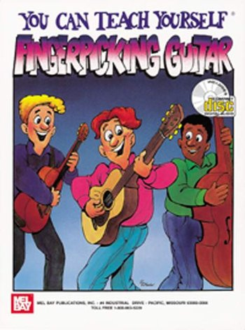 You Can Teach Yourself Fingerpicking Guitar (Partition+CD)