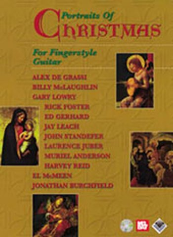 Portraits of Christmas for Fingerstyle Guitar (Partition+CD)