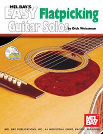 Easy Flatpicking Guitar Solos (Partition+CD)