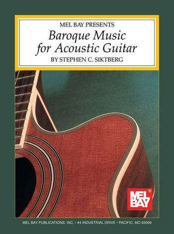 Baroque Music for Acoustic Guitar (Partition)