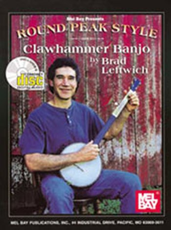 Round Peak Style Clawhammer Banjo (Partition+CD)