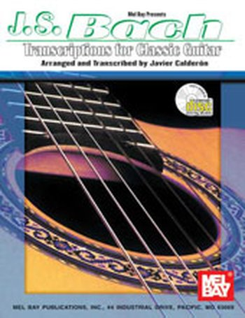 J. S. Bach Transcriptions for Classic Guitar (Partition+CD)
