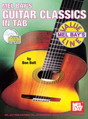 Guitar Classics in Tab (Partition+CD)