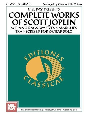 Complete Works of Scott Joplin for Guitar (Partition)