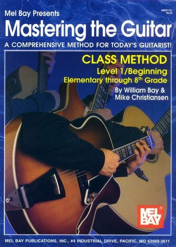 Mastering the Guitar Class Method Elementary to 8th Grade (CD)