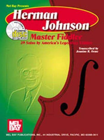 Herman Johnson Master Fiddler:39 Solos-America's Lgnd Fdlr
