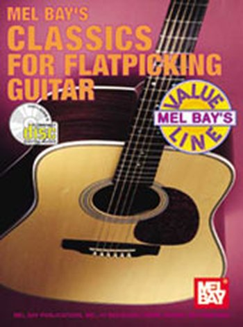 Classics for Flatpicking Guitar (Partition+CD)