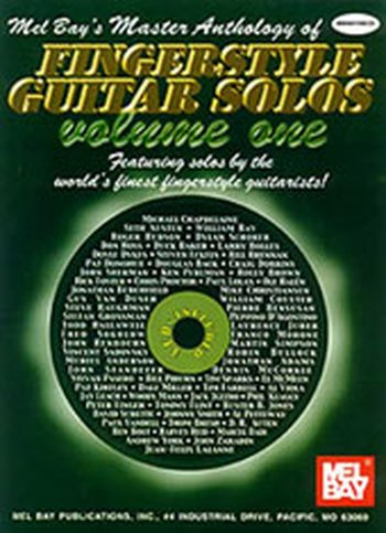 Master Anthology of Fingerstyle Guitar Solos Vol. 1 (Partition+CD)