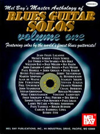 Master Anthology of Blues Guitar Solos Volume One (Partition+CD)