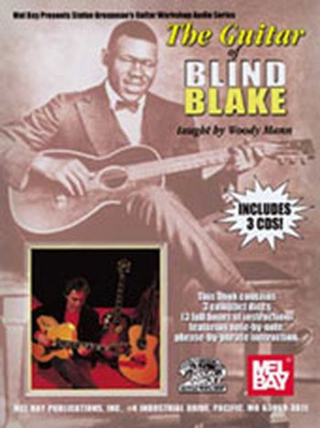 Guitar of Blind Blake (Partition+CD)