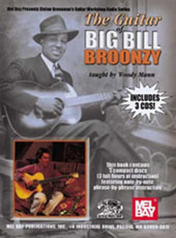 Guitar of Big Bill Broonzy (Partition+CD)
