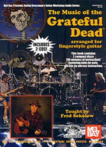 Music of the Grateful Dead Arranged for Fingerstyle Guitar (Partition+CD)