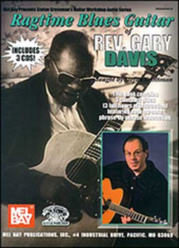Ragtime Blues Guitar of Rev. Gary Davis (Partition+CD)