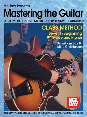 Mastering the Guitar Class Method 9th Grade & Higher (CD)
