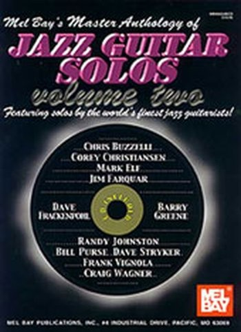 Master Anthology of Jazz Guitar Solos Volume 2 (Partition+CD)