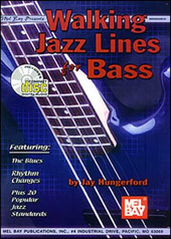 Walking Jazz Lines for Bass (Partition+CD)