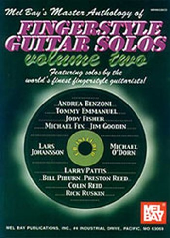 Master Anthology of Fingerstyle Guitar Solos Volume 2 (Partition+CD)