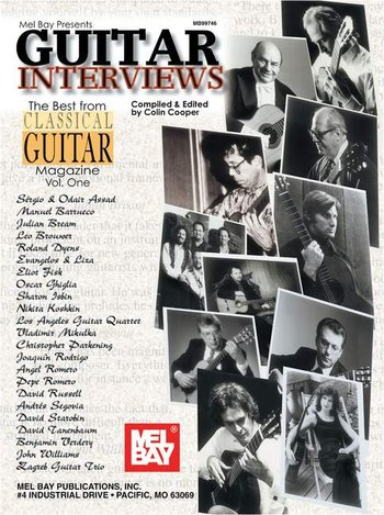Guitar Interviews: The Best from Classical Guitar Magazine Vol. 1 (Partition)