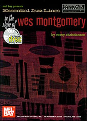 Essential Jazz Lines: In the Style of Wes Montgomery for Guitar (Partition+CD)