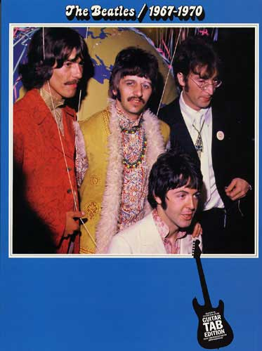 The Beatles: 1967-1970 Guitar Tab Edition (Partition)
