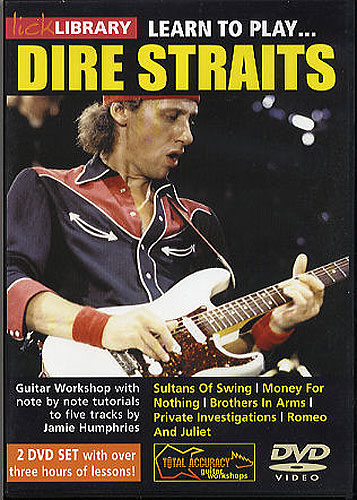 Lick Library : Learn To Play Dire Straits (DVD)