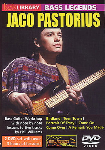 Lick Library : Learn To Play Jaco Pastorius (DVD)