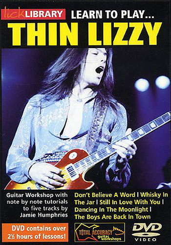 Lick Library : Learn To Play Thin Lizzy (DVD)