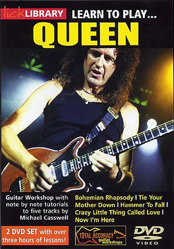 Lick Library : Learn To Play Queen