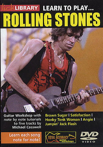 Lick Library : Learn To Play Rolling Stones